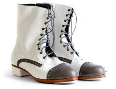 Customisable handcrafted tap shoe boot handmade tap dance shoe boot