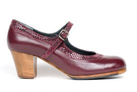 Customisable handcrafted tap shoe cuban heel. tap shoe heel custom design cuban heel