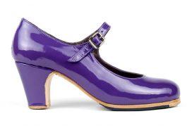 ladies heeled tap dance shoe. tap dance shoe, heeled tap shoe, handmade tap shoes, ladies tap shoes purple