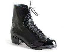 Customisable handcrafted tap shoe. Bespoke artisanal tap dance shoe boot